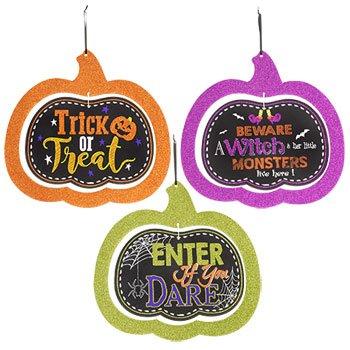 Halloween Cupcake Printables (Halloween Door Hangers)