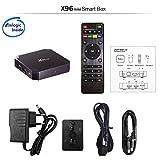 New Android TV Box - Smart TV Box Quad Core X96 Mini Android 7.1 OS Amlogic S905W Media Player 2GB 16GB/WiFi 2.4G X96 Mini TV Box