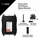 weBoost Drive 4G-X 470510 Cell Phone Signal Booster, Cell Signal Booster for Car & Truck, Boosts 4G LTE Cell Signals – Enhance Your Cell Phone Signal up to 32x