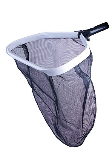 Milliard Pool Skimmer Net Leaf Rake with Deep Bag, Professional Heavy Duty Mesh, Commercial Size (Skimmer Replacement Debris Net)