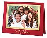 Exposures Traditional Merry Christmas Photo Christmas Card