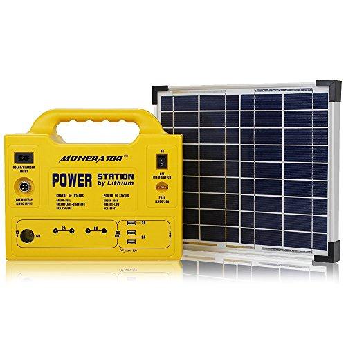 Solar Powered 110V Outlet - 6
