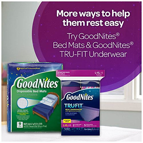 Large Product Image of GoodNites Bedtime Bedwetting Underwear for Girls, XS, 28 Ct. (Packaging May Vary)