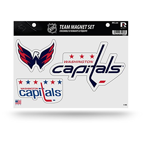 NHL Washington Capitals Team Magnet Set, 8.5