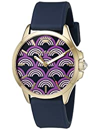Juicy Couture Women's 1901390 Jetsetter Analog Display Japanese Quartz White Watch