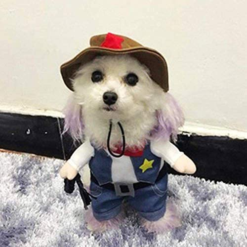 Meihejia Funny Cowboy Jacket Suit - Super Cute Costumes for Small Dogs & Cats 19