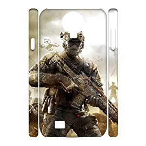 D-PAFD Cell phone case Call Of Duty Hard 3D Case For Samsung Galaxy S4 i9500