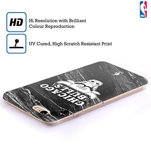Officiel NBA B&W Marbre Chicago Bulls Étui Coque en Gel molle pour Apple iPhone 5 / 5s / SE