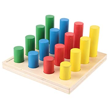 Eduedge Let's Solve -Ascending pegs