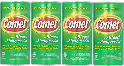 Comet All Purpose Cleanser Powder With Bleach  14 Ounce  Pack Of 4