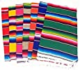 "Del Mex (TM) Mexican Serape Blanket Table Runner (72"" By 12"")"