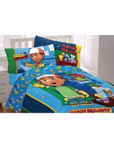 Handy Manny Cotton Rich Full Comforter by Nickelodeon