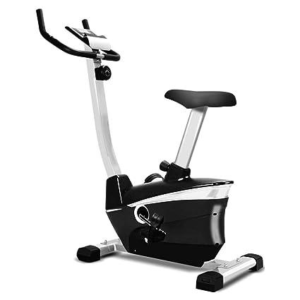 HLeoz Bicicleta estática, Pulsómetro Pantalla LCD Resistencia ...