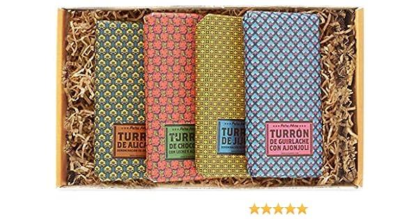 Petra Mora - Cesta de REGALO gourmet: Turrones artesanales Premium: Amazon.es: Alimentación y bebidas