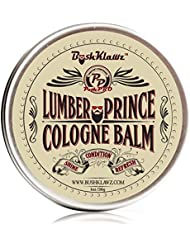 Lumber Prince Solid Cologne Balm - Distinctly Masculine Modern LumberJack Scent Alcohol Free Cologne for travel Best Gift for Men