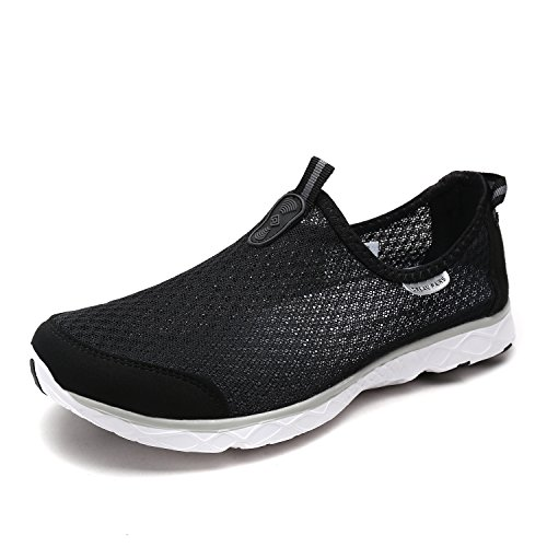 DREAM PAIRS Men's 1610043-M Black Grey Slip On Water Shoes - 11 M US