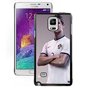 Unique DIY Designed Case For Samsung Galaxy Note 4 N910A N910T N910P N910V N910R4 With Soccer Player Cristiano Ronaldo 32 Cell Phone Case