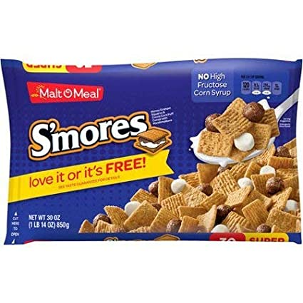 Cereal de desayuno, Smores, 30 onzas, bolsa, pack de 2 ...