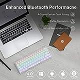 ANNE PRO 2, 60% Wired/Wireless Mechanical Keyboard