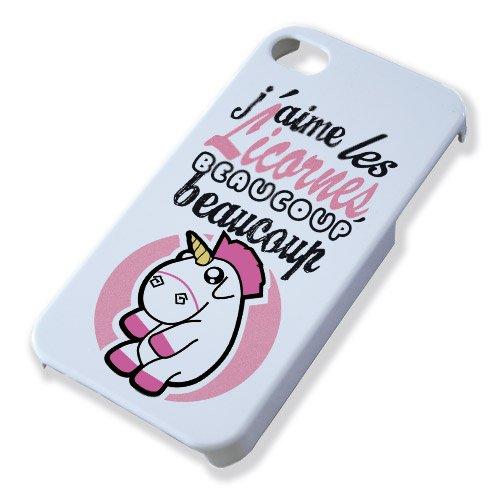 coque iphone 4 s licorne