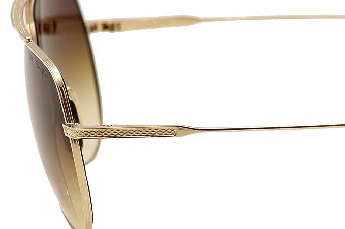 b2eacac106d4 Amazon.com  Dita Flight.004 7804-B 7804B 12K Gold Fashion Aviator Sunglasses  61mm  Dita  Clothing