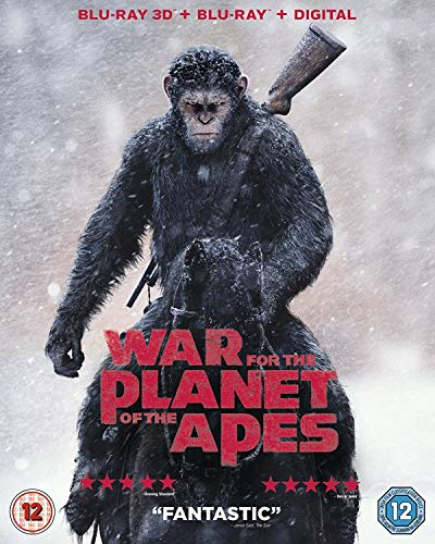 War For The Planet Of The Apes [Blu-ray] [2017] (War For The Planet Of The Apes 3d)