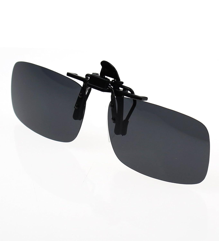 30a23b4ed4b hot sale 2017 Jaky® Lightweight Polarized Clip-on Flip up Metal Clip  Sunglasses Lenses