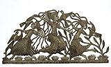 it's cactus - metal art haiti Girls Dancing, Haitian Metal Art, Recycled Steel, Handmade, Fair Trade 34