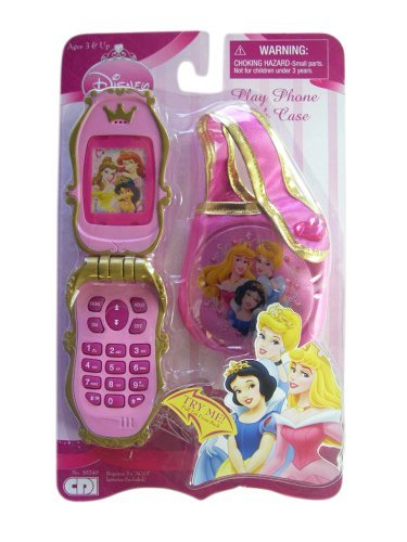 Click for larger image of Disney Princess - 3 Princess - Play Phone with Case