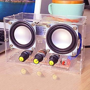 Ils Small Amplifier Two Channel Speaker Audio Kit Amazon Co Uk