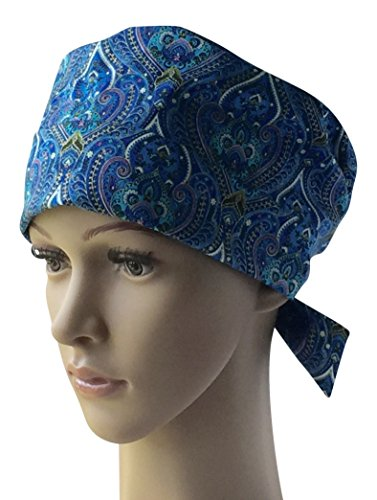 Womens Classic Surgical Scrub Hat, Cap, Many Fabric Choices