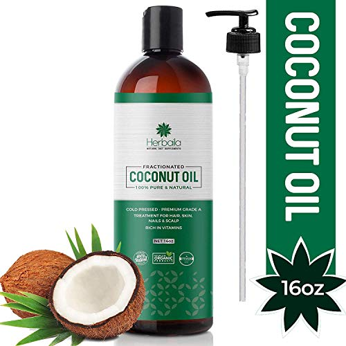 Fractionated Coconut Oil 16oz Pump