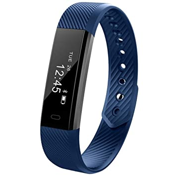 HFXLH Bluetooth Smart Watch Fitness Tracker Fit Mujeres ...
