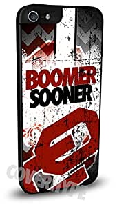 Oklahoma Sooners Cell Phone Hard Plastic Case for iPhone 5/5s
