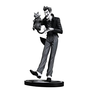 Batman black white joker statue brian bolland action figure