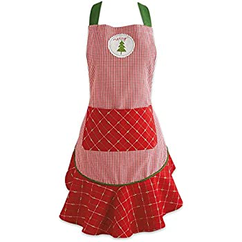 DII Holiday Kitchen Apron, One Size, Merry Christmas