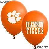 "Clemson Tigers Orange 10-Pack 11"" Latex Balloons"