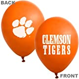 Clemson Tigers Orange 10-Pack 11'' Latex Balloons