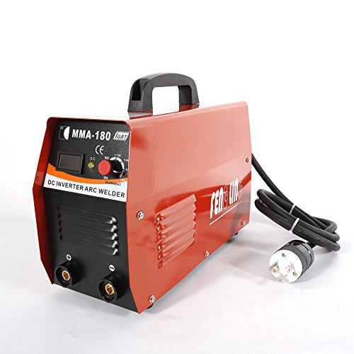 (Handheld Mini MMA180 Electric Inverter Welder Arc Welding Machine Tool 20-180A AC110/220V)