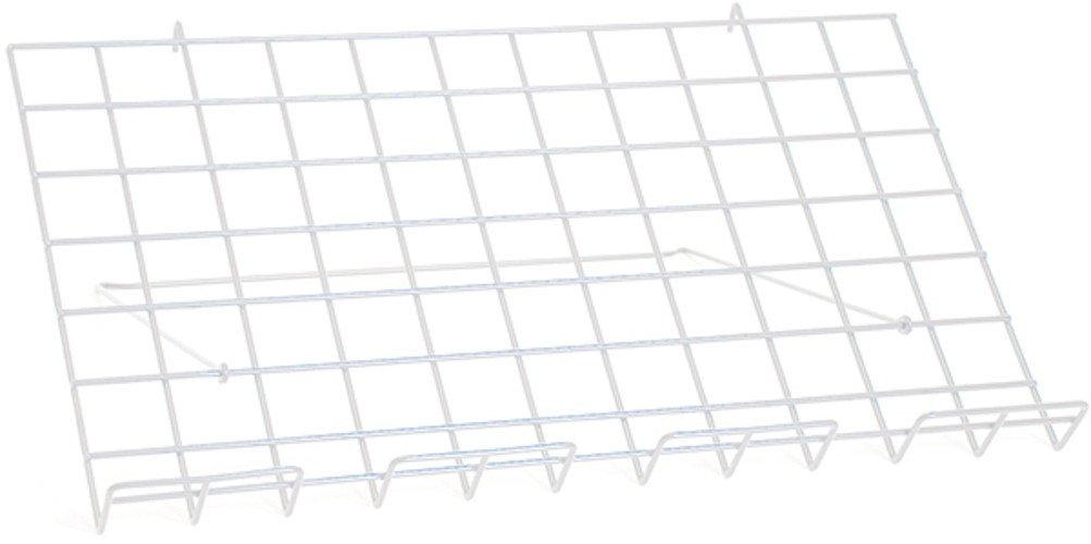 Lot of 10 New Retails White Adjustable Grid Shelf 24''w x 14''d