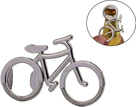 Compra iHousing Aleación Bicicleta Forma Abrebotellas Llavero ...