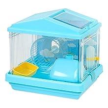 IRIS Hamster Cage, Blue
