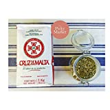 YERBA MATE CRUZ DE MALTA 2.2 LB 1 KG. ARGENTINE TEA. ENERGY DRINK WITH THE STRENGHT OF COFFEE & THE HEALTH BENEFITS OF TEA.