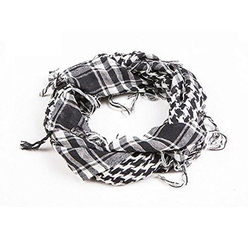 Distinct Military Windproof Scarf Men Muslim Hijab Thin Shemagh Tactical Shawl Arabic Keffiyeh Scarves