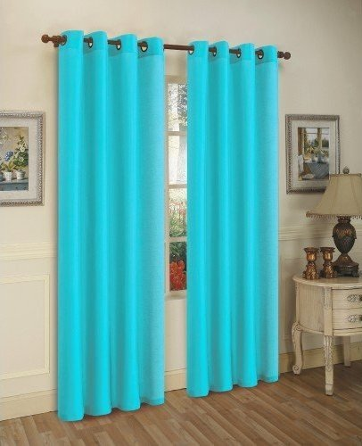 LuxuryDiscounts Grommet Window Curtain Treatment