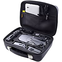 Waterproof Carrying Case for DJI Mavic Pro - Protect DJI Mavic Pro Foldable Drone Combo and Accessories Such as Remote Control , Extra Batteries and More