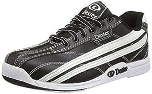 Dexter Jack Bowling Shoes, Black/White, 6.5