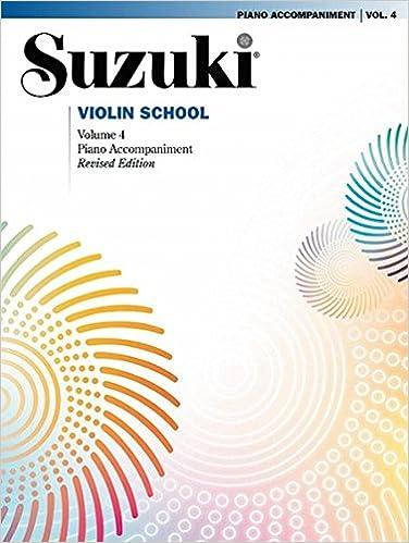 suzuki violin school piano part vol4