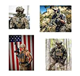 2 PCS Tactical Patches of USA US American