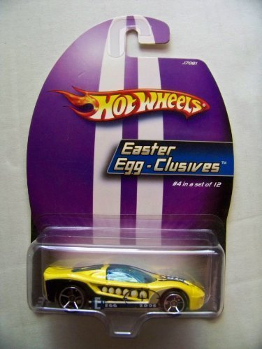 2005 Hot Wheels Easter Egg-Clusives Gelb 40 Somethin' ( 4 of 12) by Hot Wheels